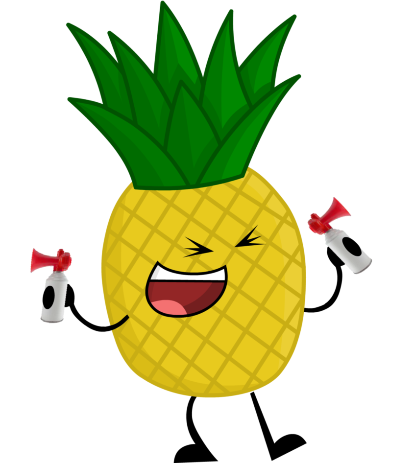 Cartoon pineapple png. Image last object standing