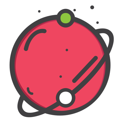 Cartoon planet png. Out of the world