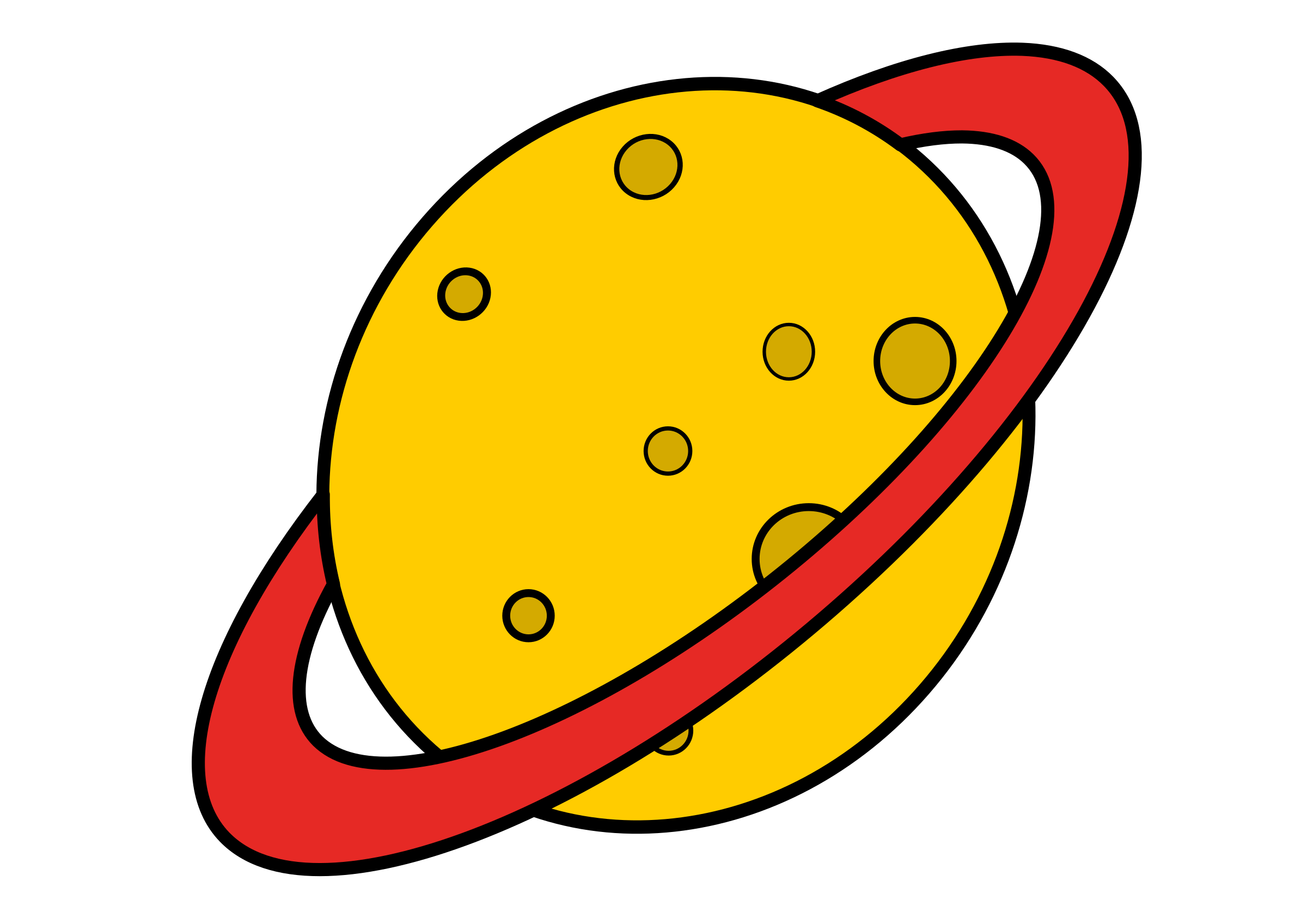 Cartoon planet png. Yellow icons free and