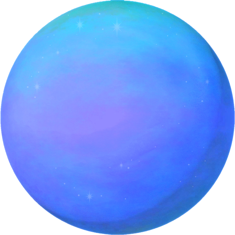 Cartoon planet png. Neptune by ravenmaddartwork on