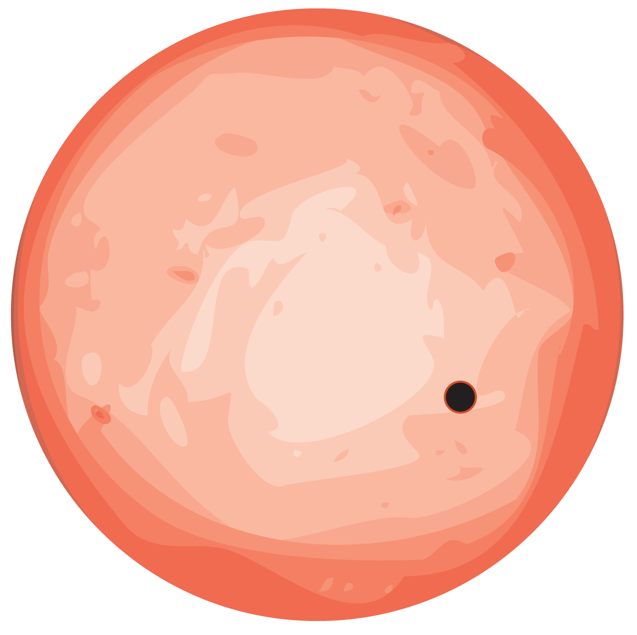 Cartoon planet png. Venus twin earth sized