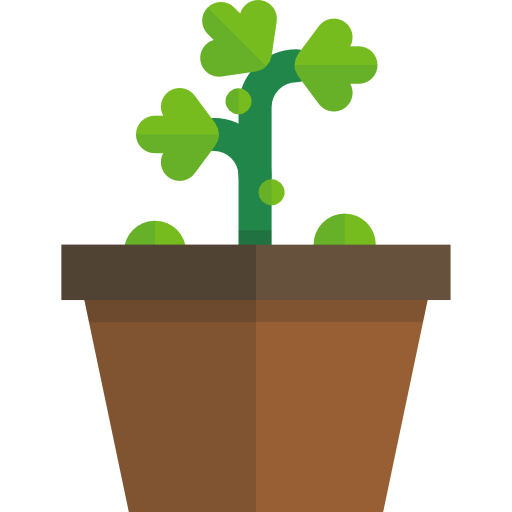 Cartoon plant png. Icon page svg