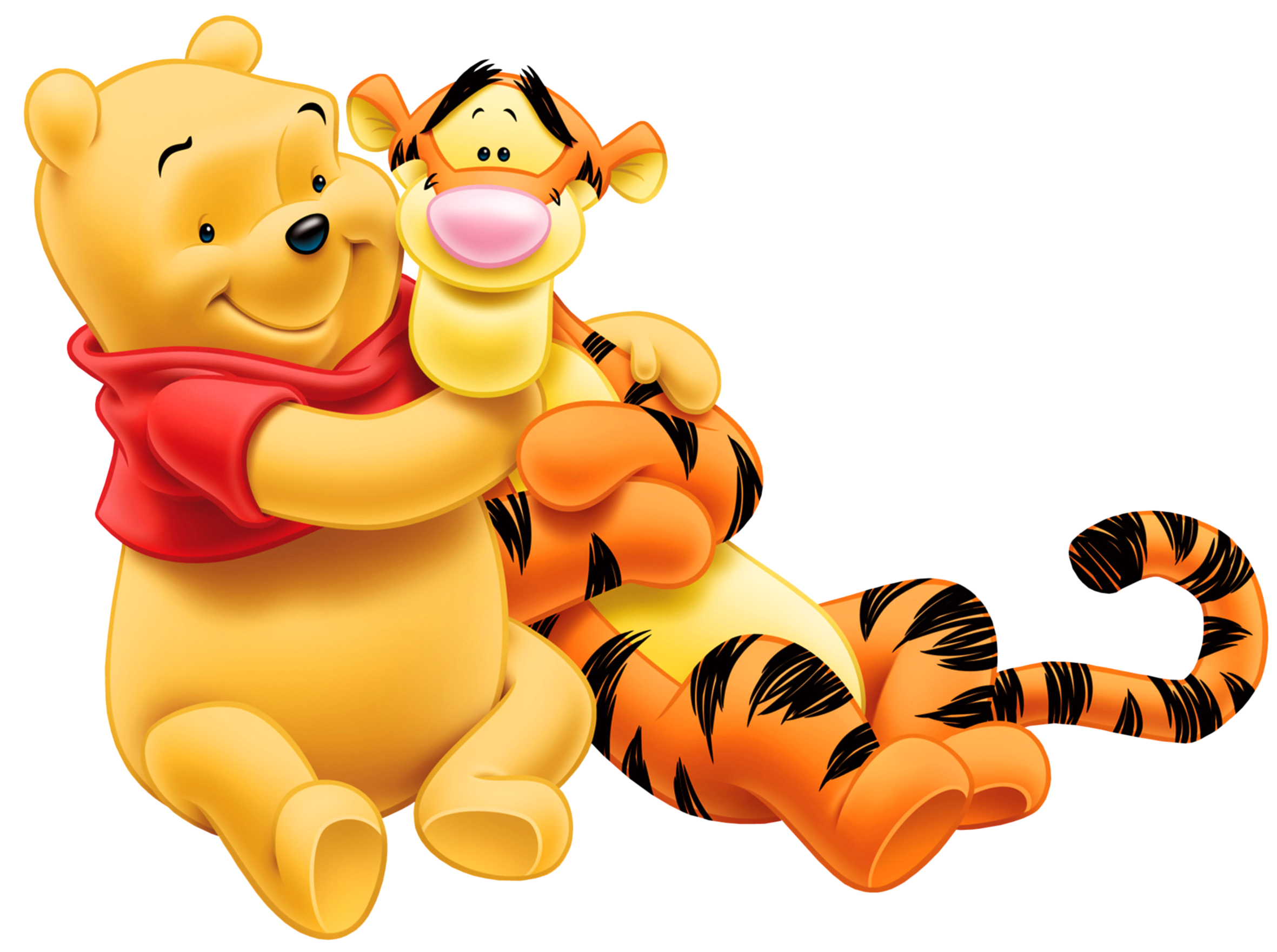 tigger transparent back
