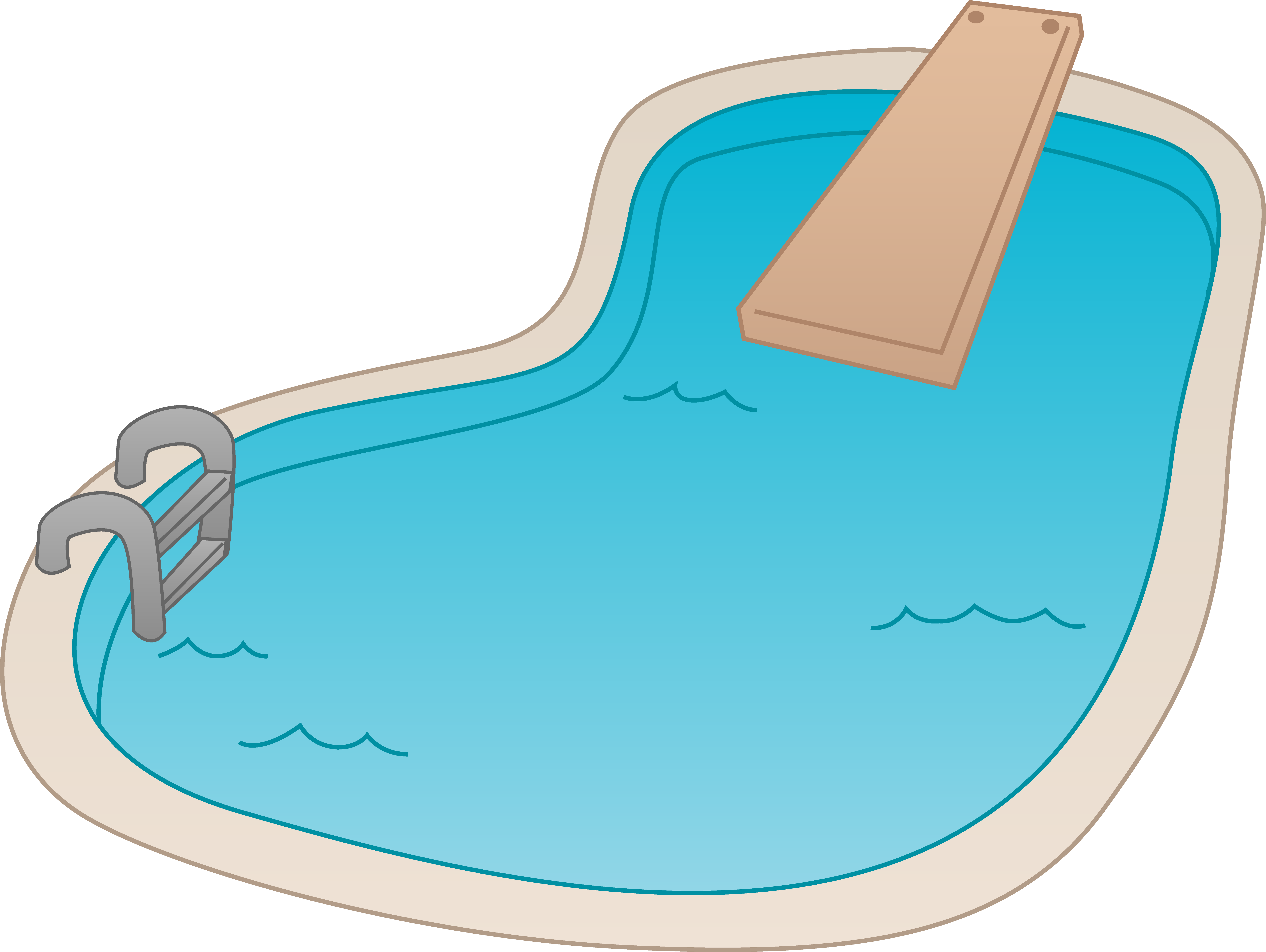 Cartoon pool png. Collection of swimming
