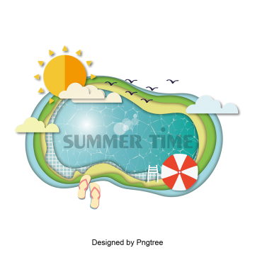 Swimming pool clipart png. Vectors psd and for