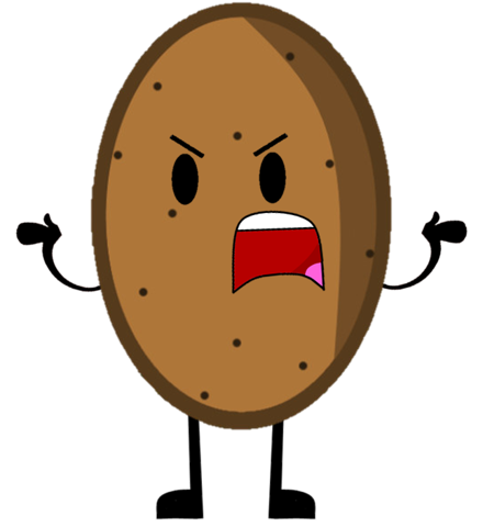 Cartoon potato png. Image pose by plasmaempire