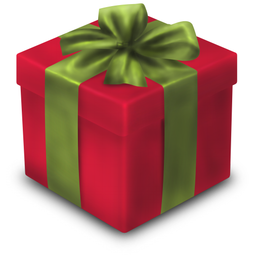 Christmas gift png. Icon graphics iconset youthedesigner