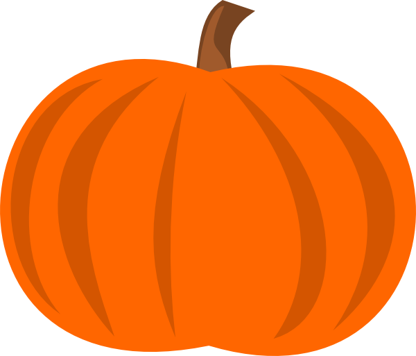 Pumpkins vector art. Image plain pumpkin hi