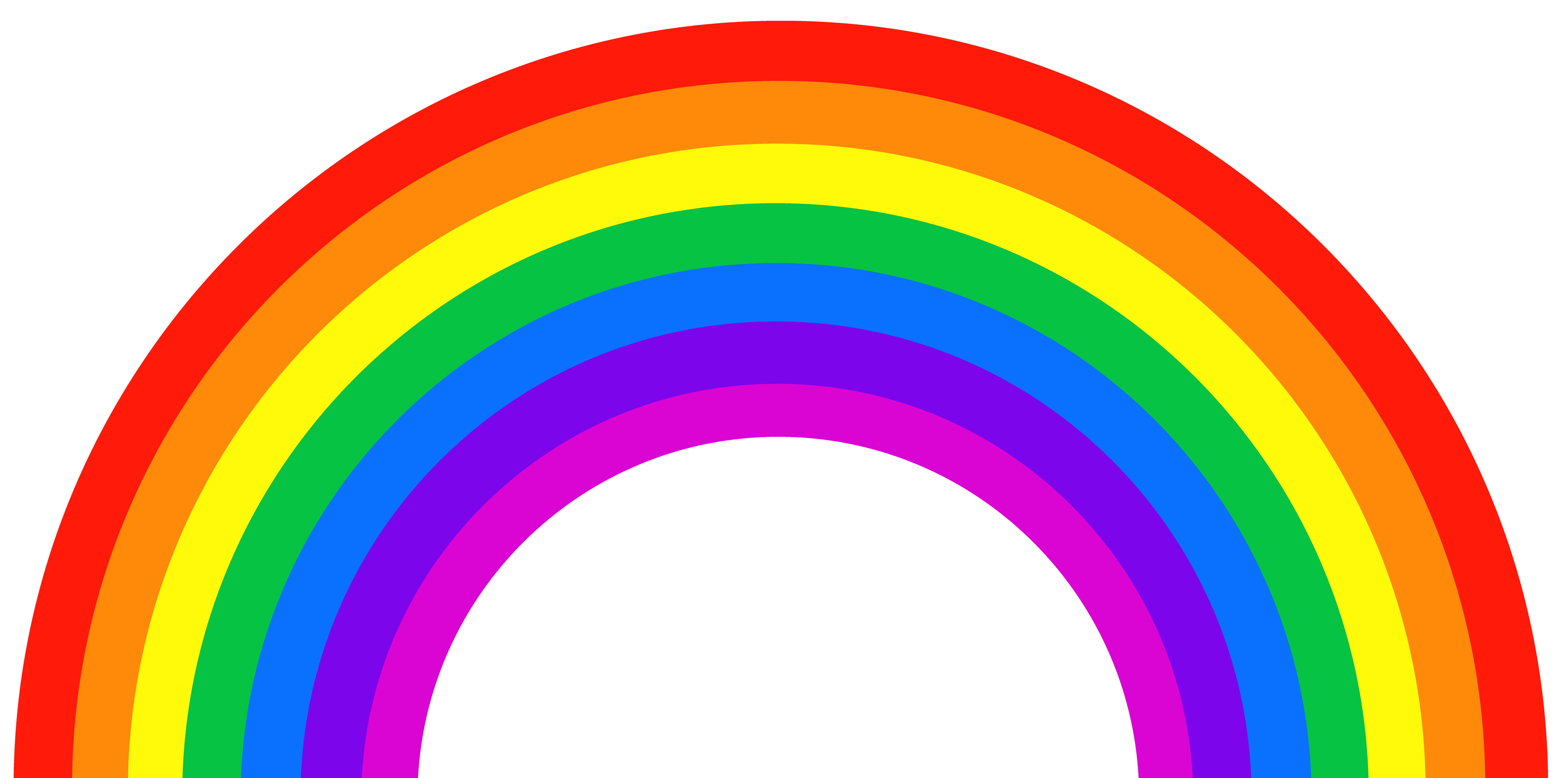 Cartoon rainbow png. Clipart picture gallery yopriceville