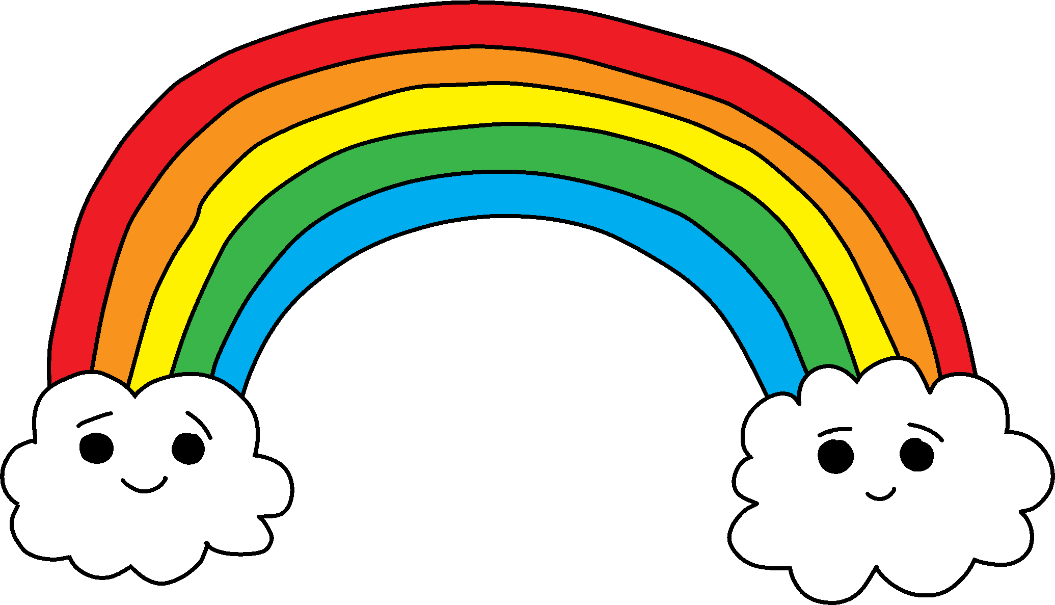 Cartoon rainbow png. Photos mart