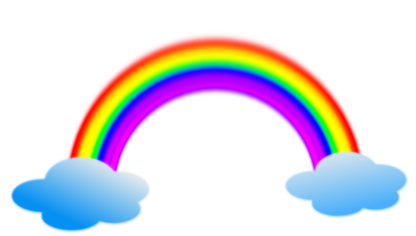 Rainbow png by janelleditions. D20 clipart animated picture download