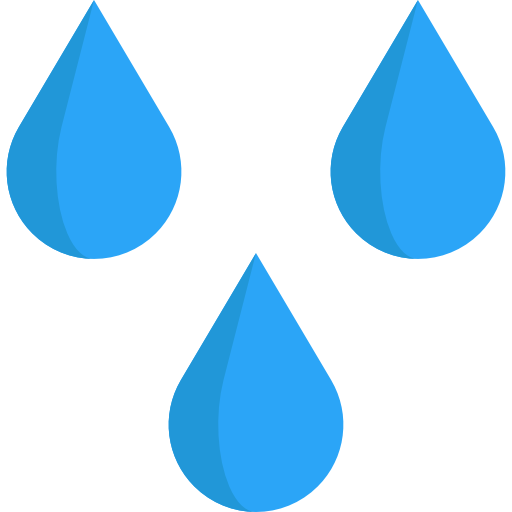 Weather water icon svg. Raindrop png vector royalty free