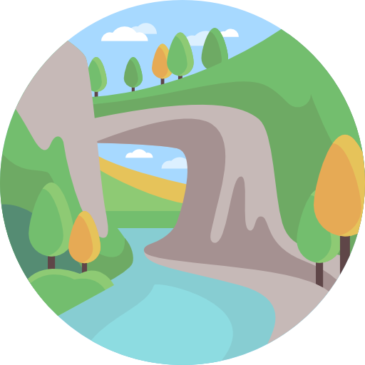 River clipart river village. Icon png svg