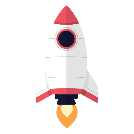 Spaceship svg vector. Rocket cartoon transparent png