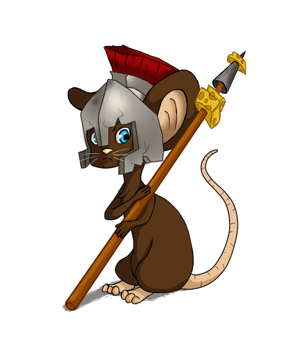 Cartoon roman spear png. By king nut on