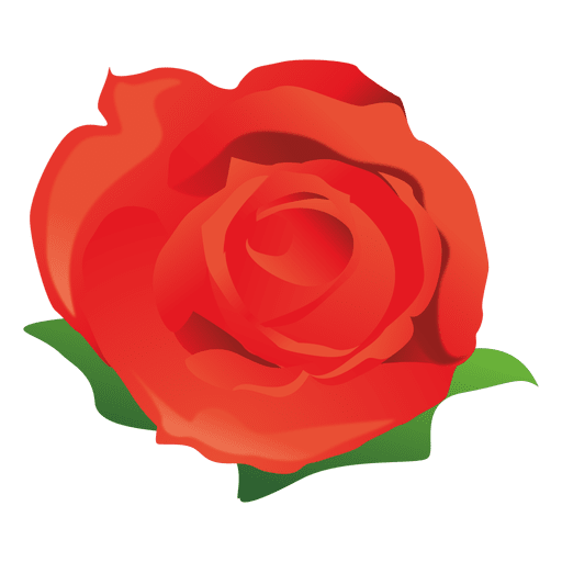 Cartoon rose png. Red transparent svg vector