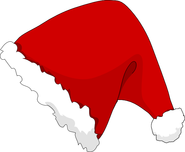 Cartoon santa hat png. Christmas hats free download