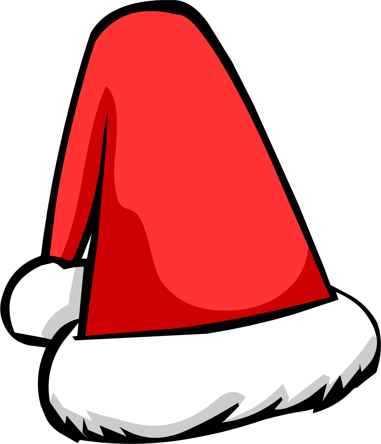 Cartoon santa hat png. Kid