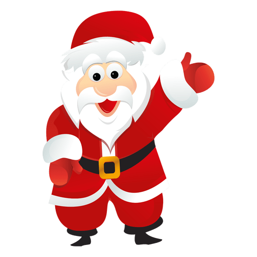 vector santa different