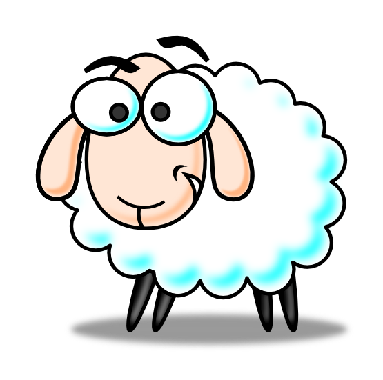 Cartoon sheep png. Collection of free heep