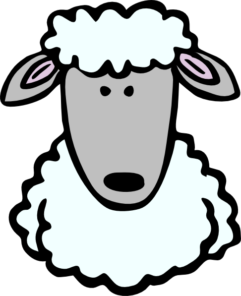 Cartoon sheep png. Head clip art at
