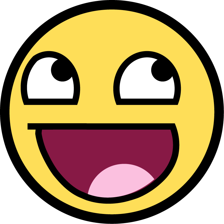 Cartoon smiley face png. File wikimedia commons filesmileypng