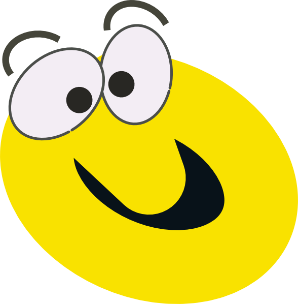 Silly face png. Cartoon smiley clip art