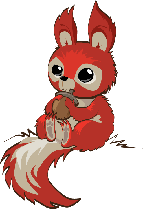 Cartoon squirrel png. Dribbble dad by jonathan