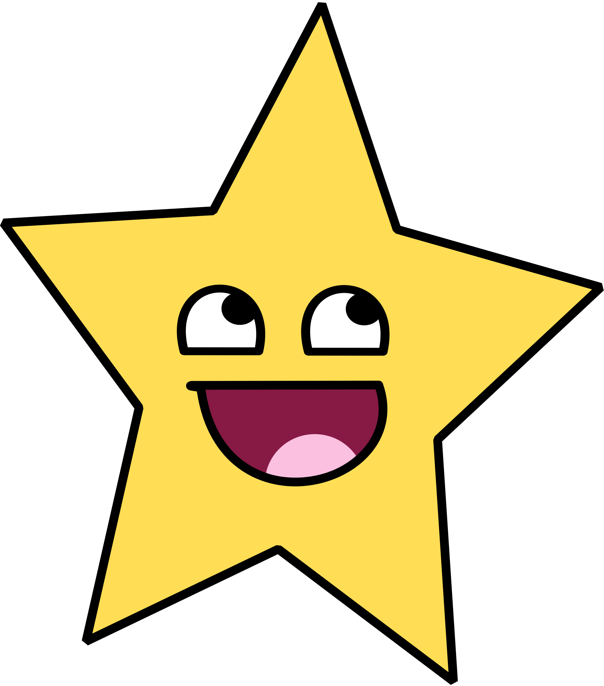 Cartoon star png. Pictures of stars x