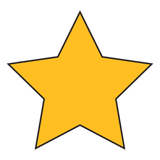 Cartoon star png. Icon transparent svg vector