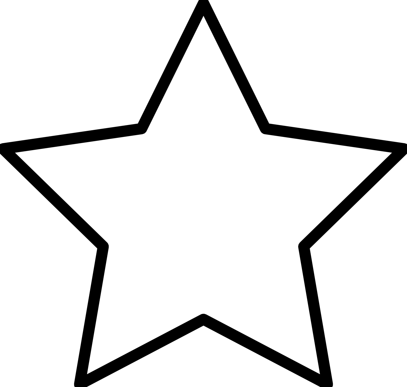 White star png. Black and transparent images