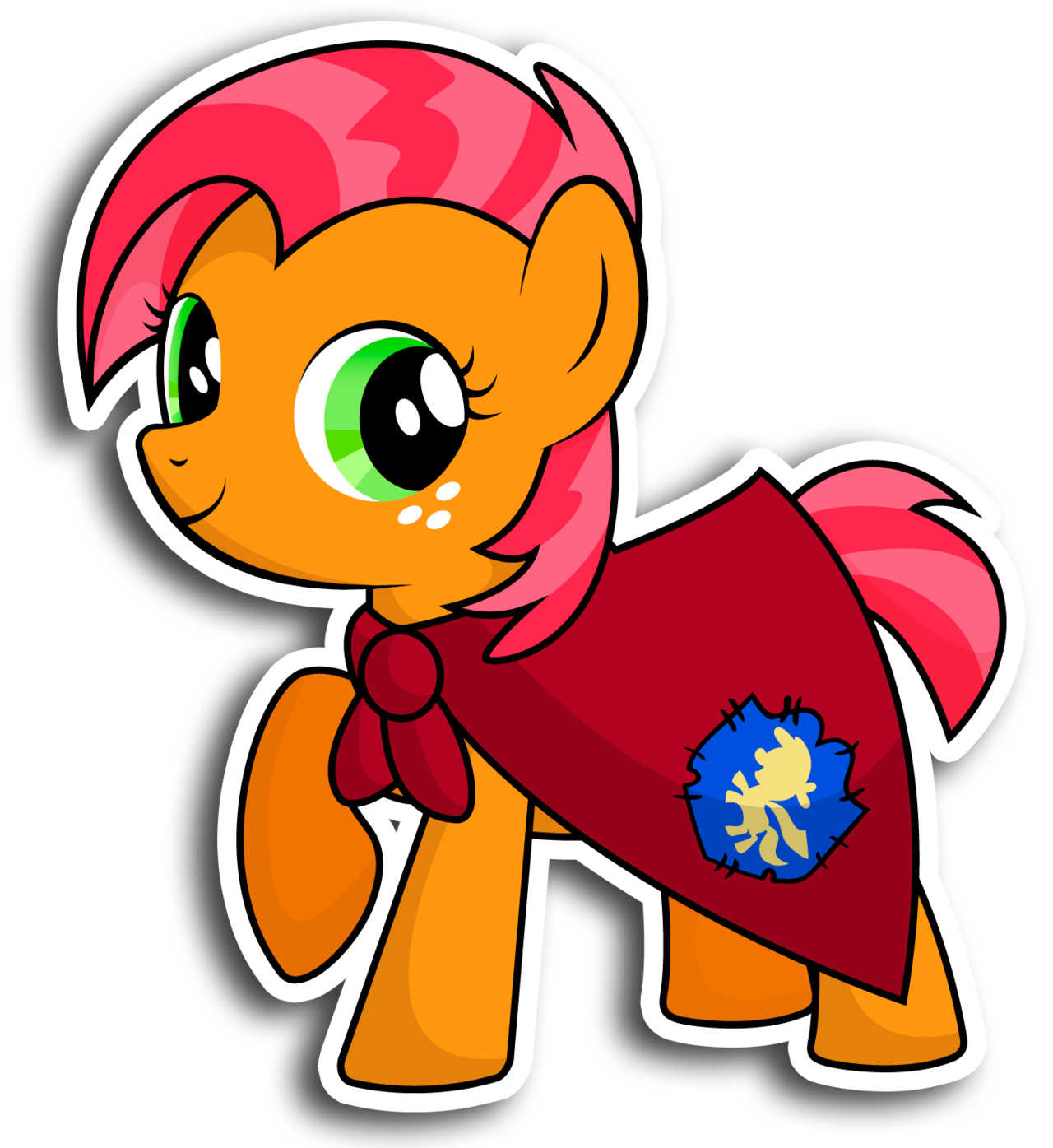 Cartoon sticker png. Babs seed by kennyklent