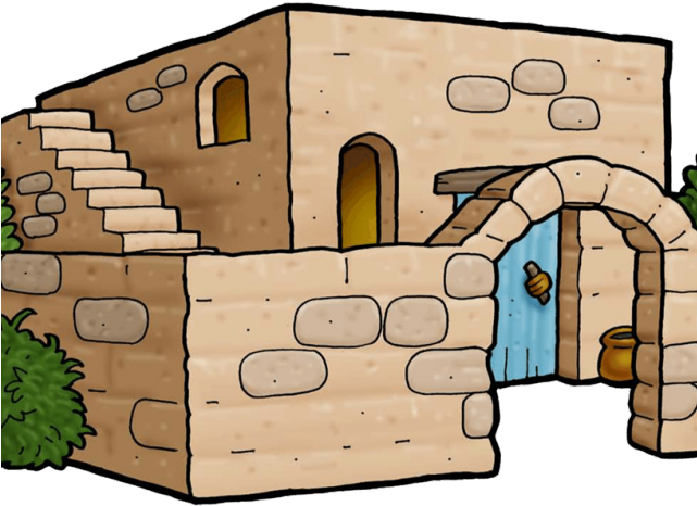 Cartoon stone png. Download hd clipart house