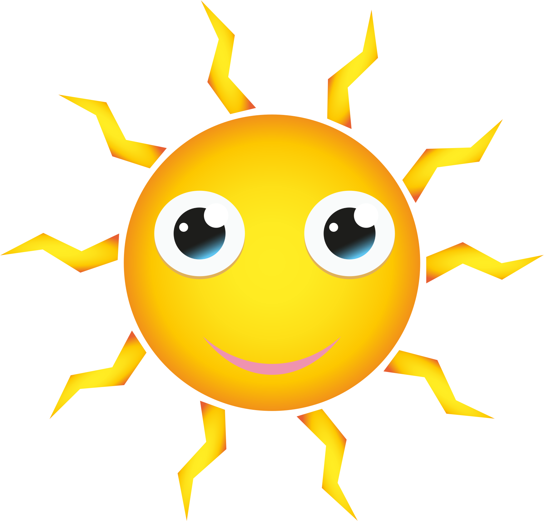 Cartoon sun png. Happy icons free and
