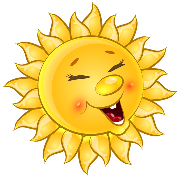 Cartoon sun png. Transparent cute clipart picture