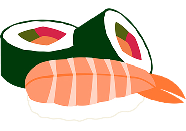 Cartoon sushi png. I m trying to