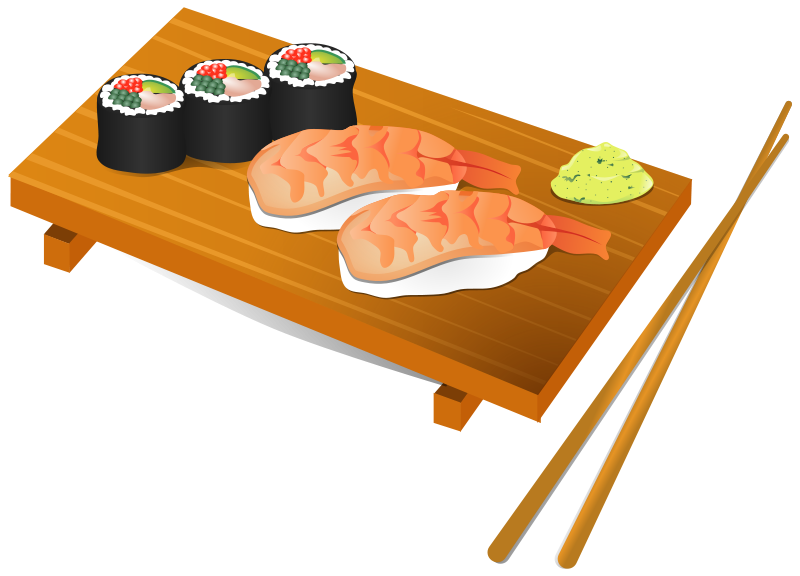 Cartoon sushi png. Free images at clker