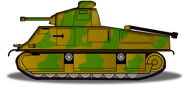 Cartoon tank png. Clipart
