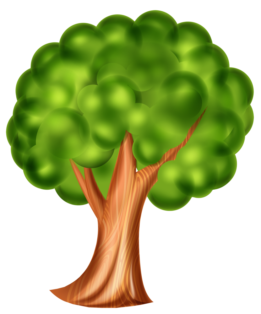 Clip art d effect. Cartoon tree png png library stock