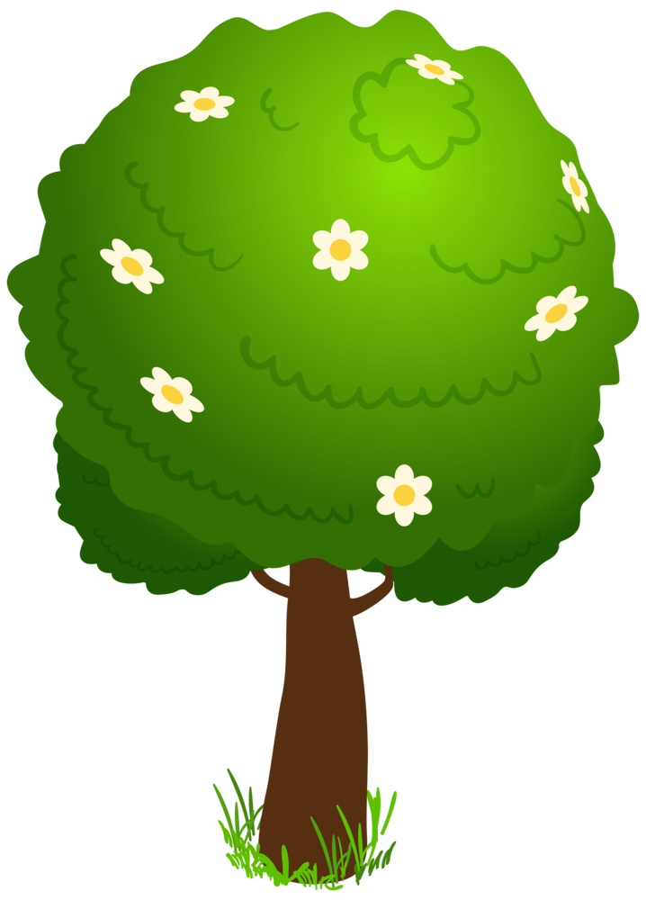 Deco clipart kid . Cartoon tree png image free download