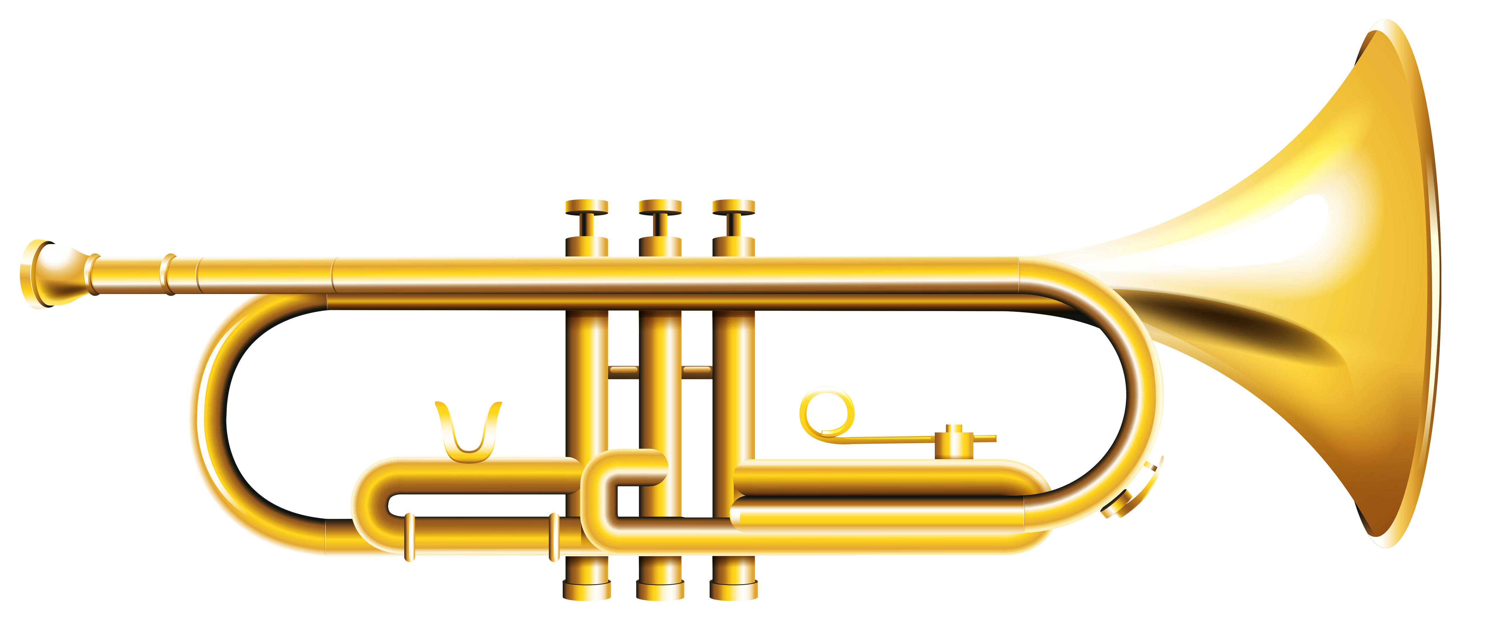 Transparent trumpet artistic. Png clipart gallery yopriceville