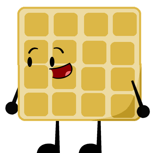 Cartoon waffle png. Battle for world by