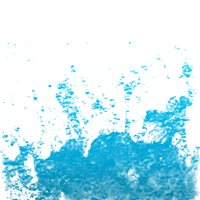 Vector spray photoshop water. Blue splash clipart drop