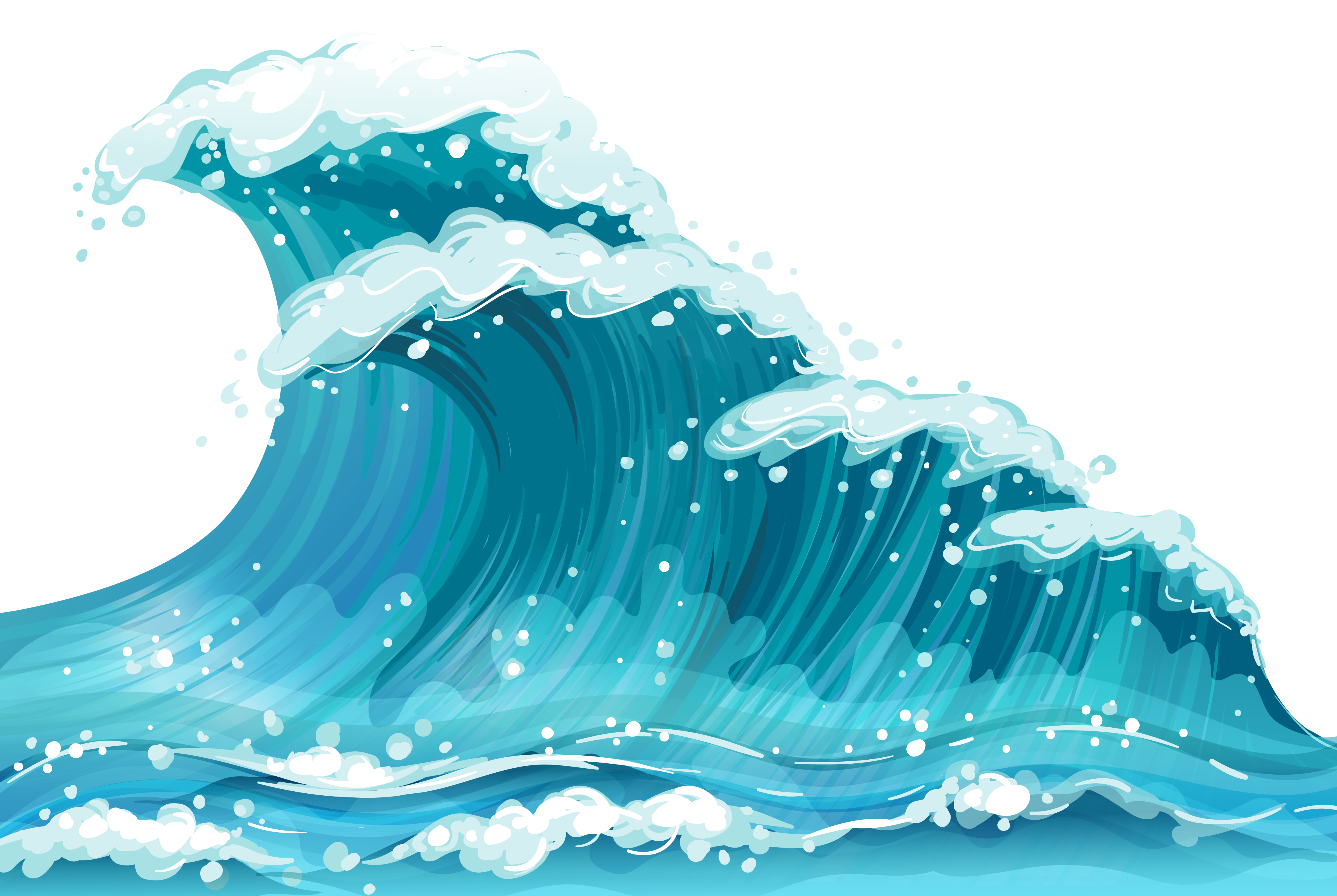 Waves .png. Sea wave ground png