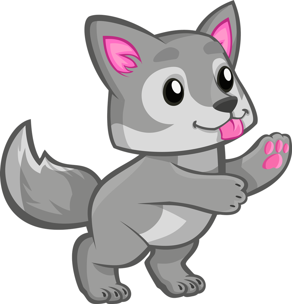 Cartoon wolf png. Baby transparent images pluspng