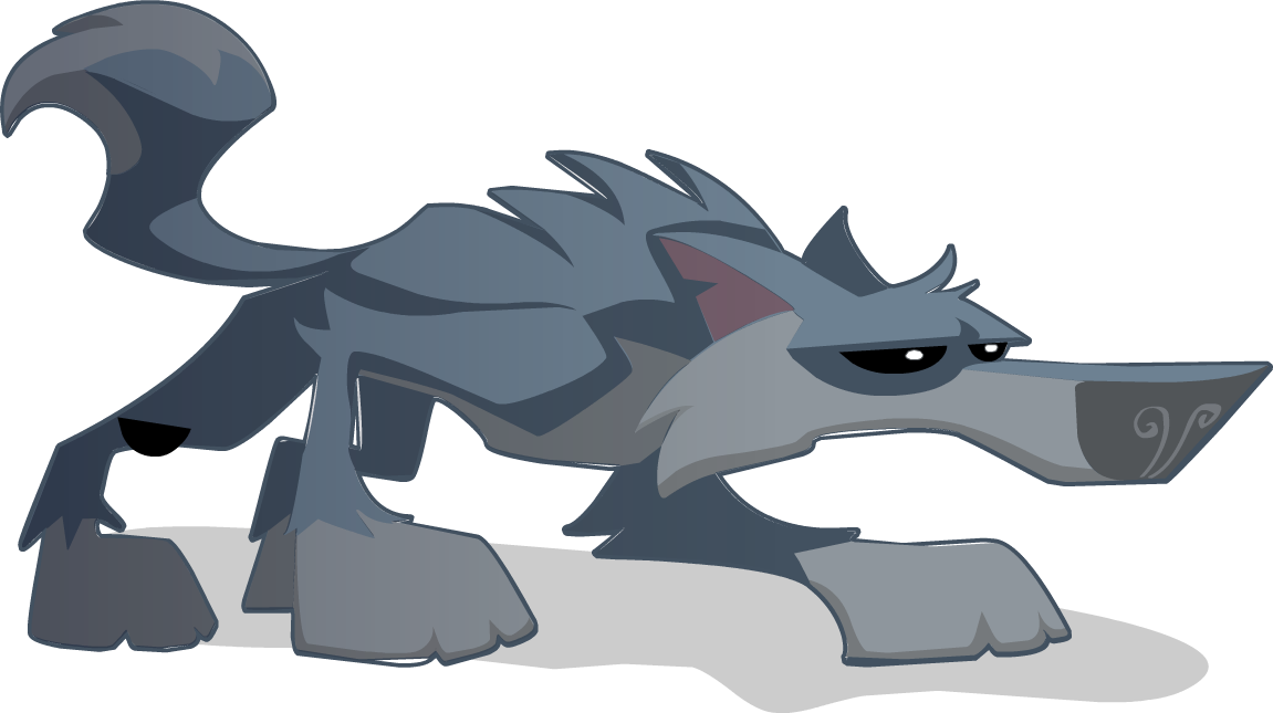Cartoon wolf png. Image i guess animal