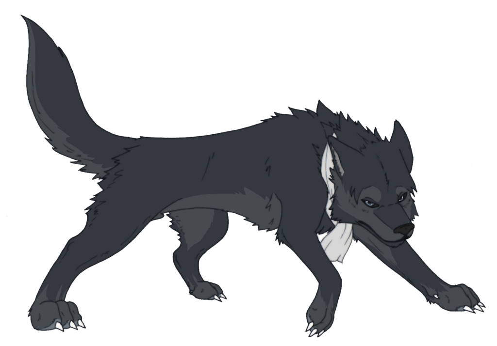 Cartoon wolf png. Levi rivaille snk by