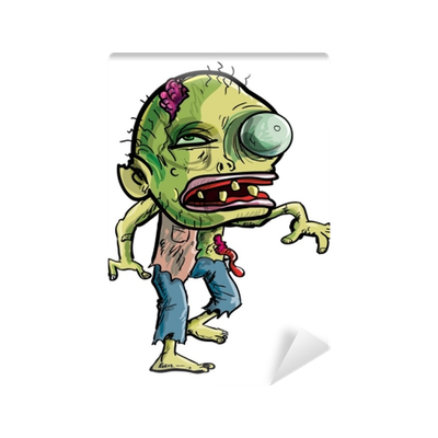 Cartoon zombie png. With a grotesque eye