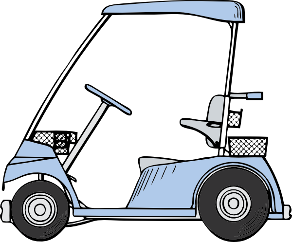Small golf cart