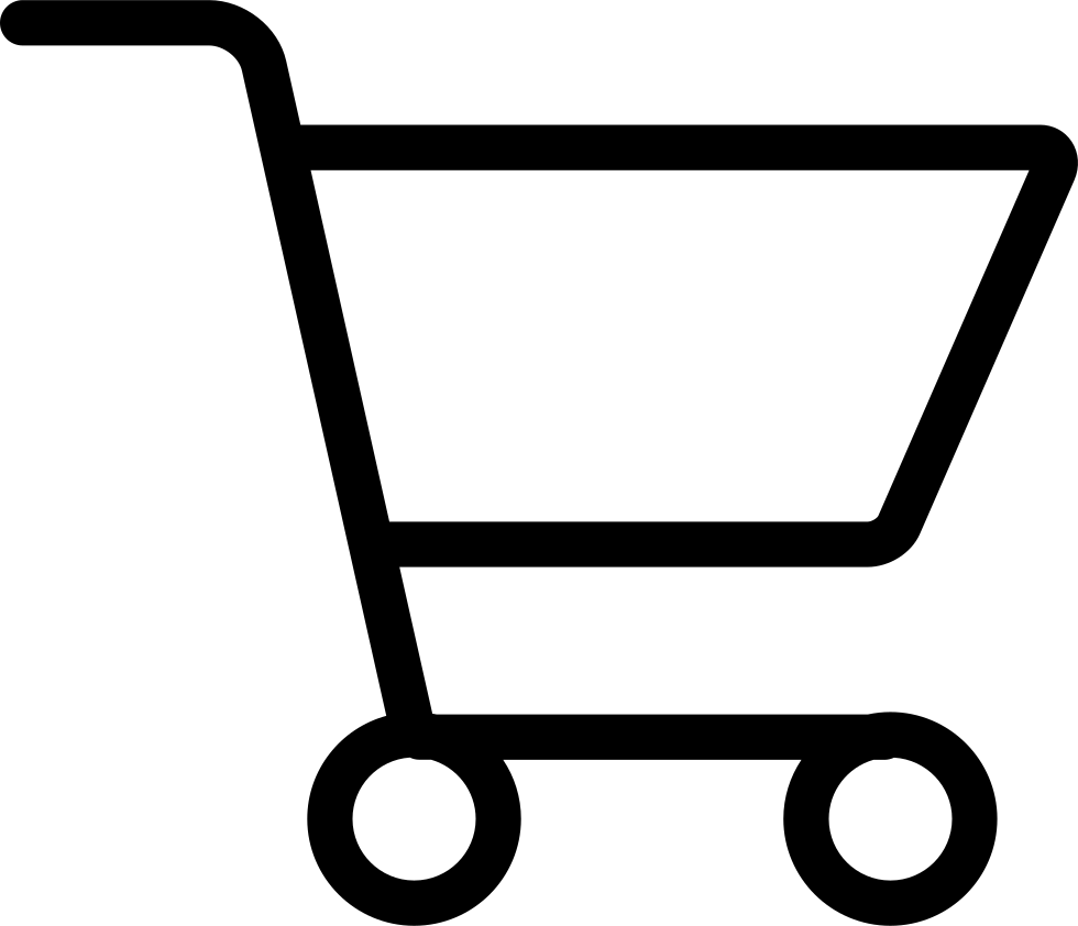 Trolley vector svg. Shopping cart png icon
